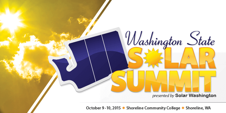 2015 Northwest Solar Summit